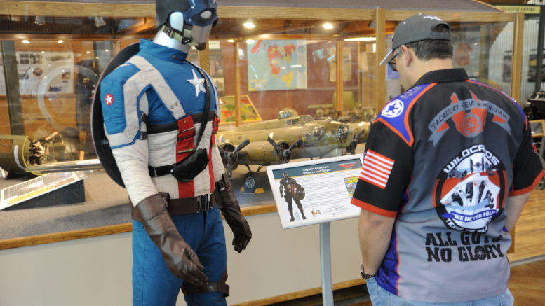 Heroic Inner Kids Donates a Permanent Captain America Exhibit to the Frontiers of Flight Museum