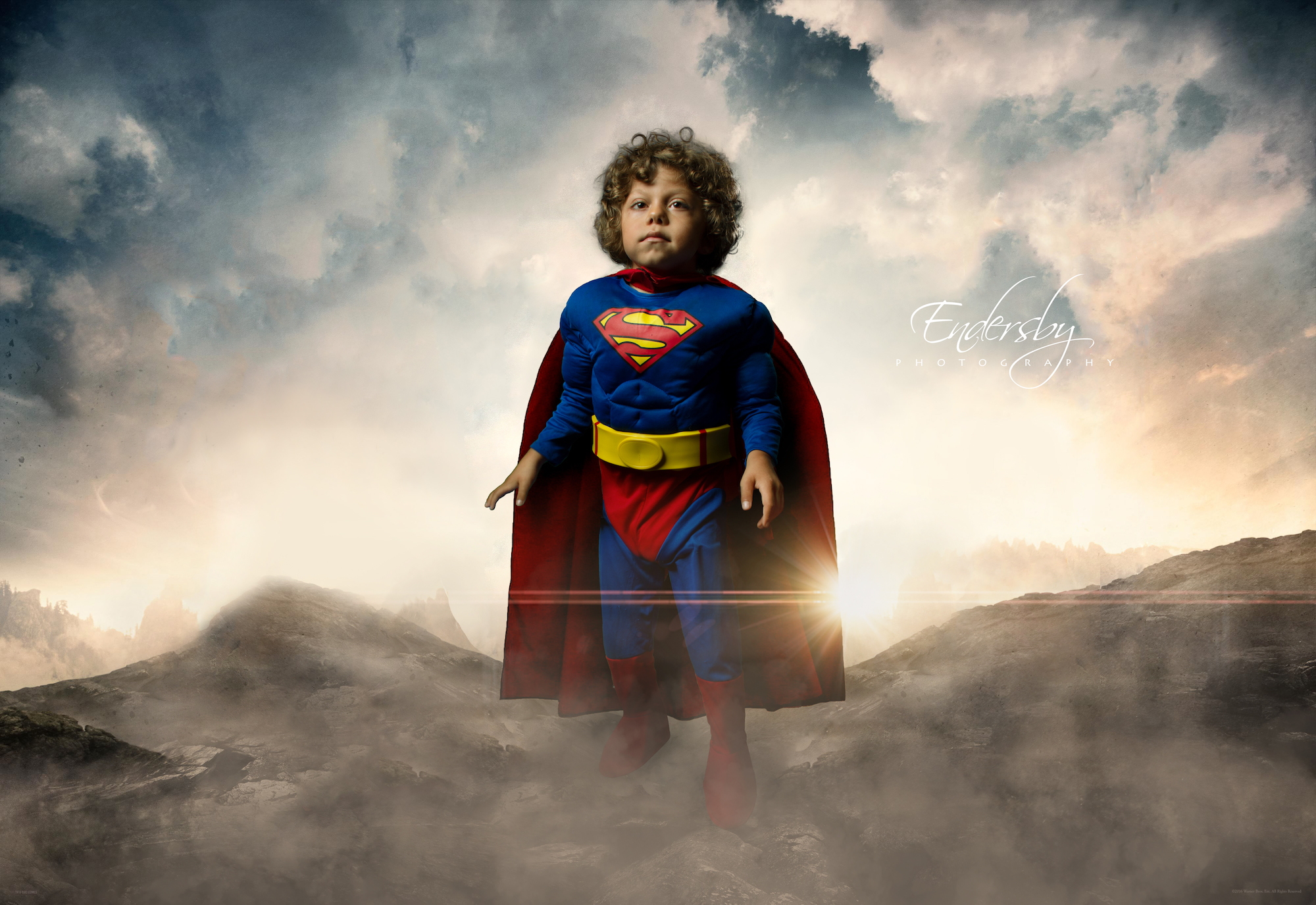Hero Image - Child dressed as Superman